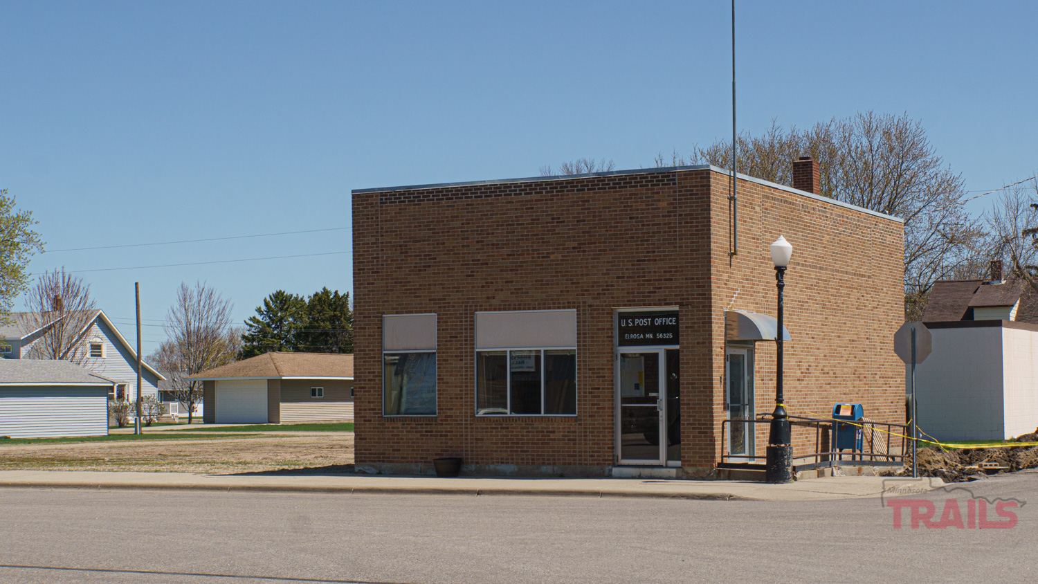 The Elrosa, MN Post Office