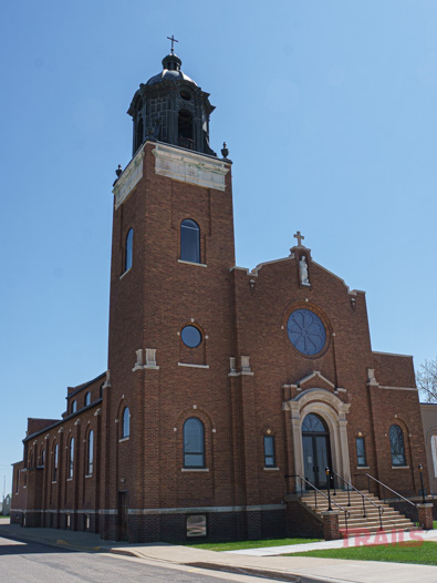 Saints Peter and Paul Church in Elrosa, MN