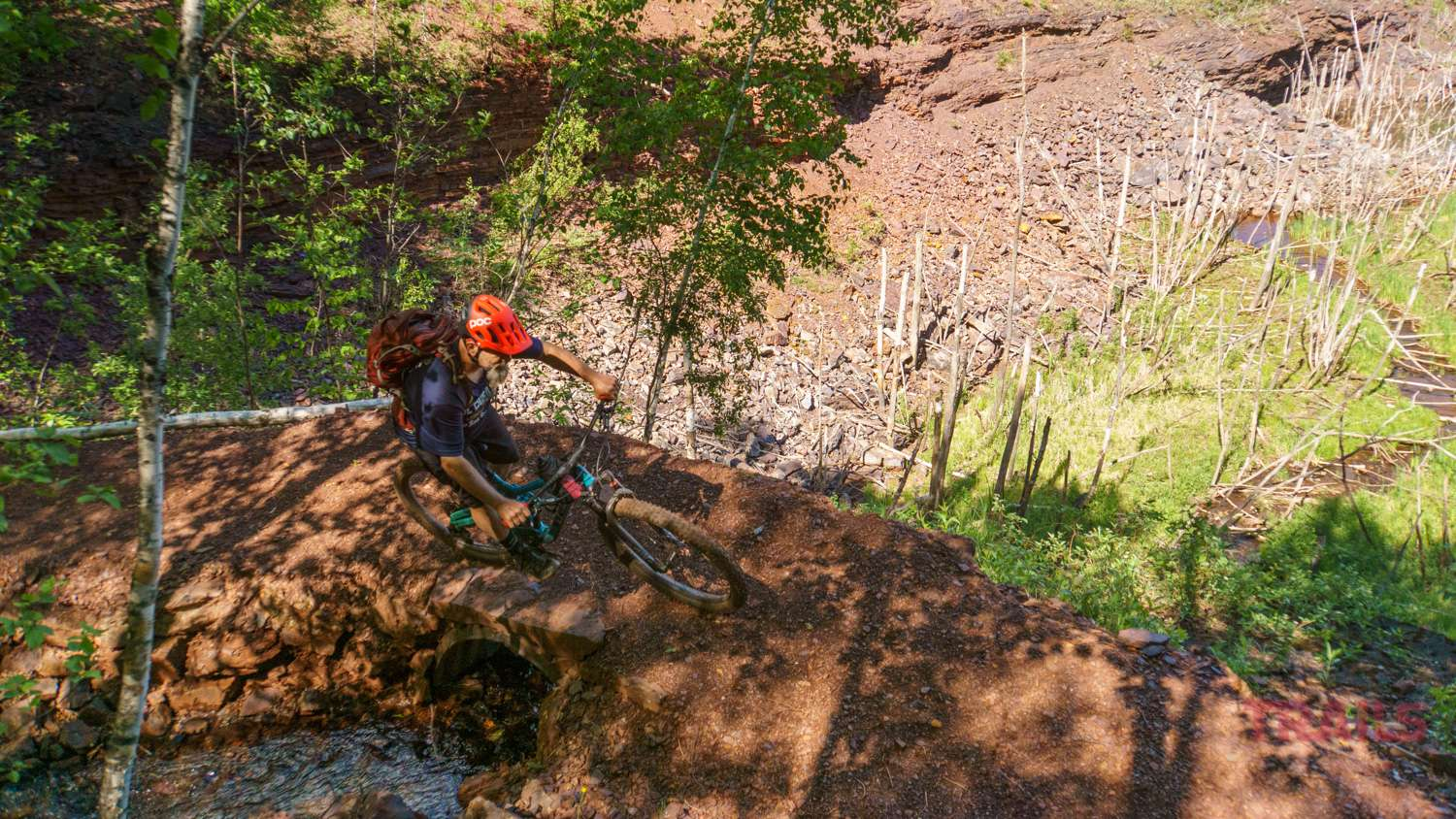 Mountain Biking at the Redhead Mountain Bike Park in Chisholm