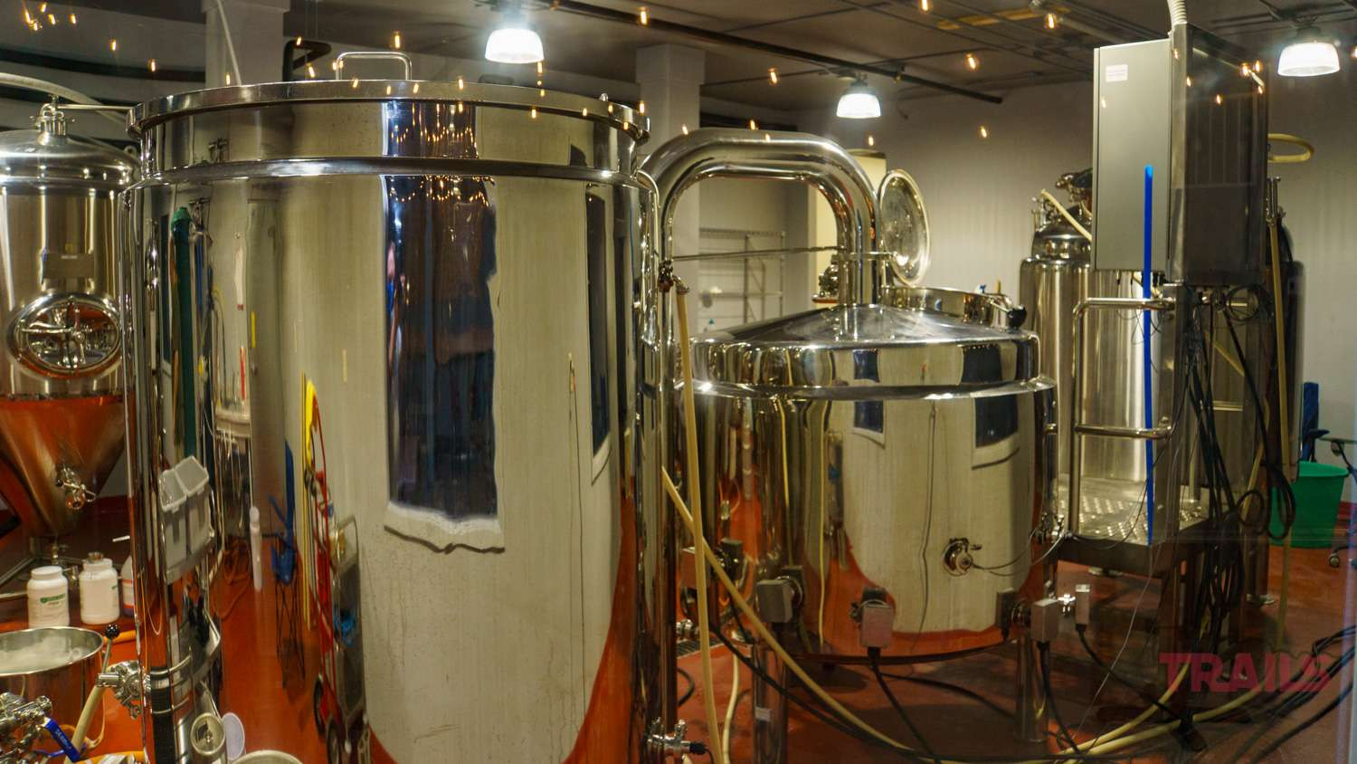 Stainless Steel brewing tanks