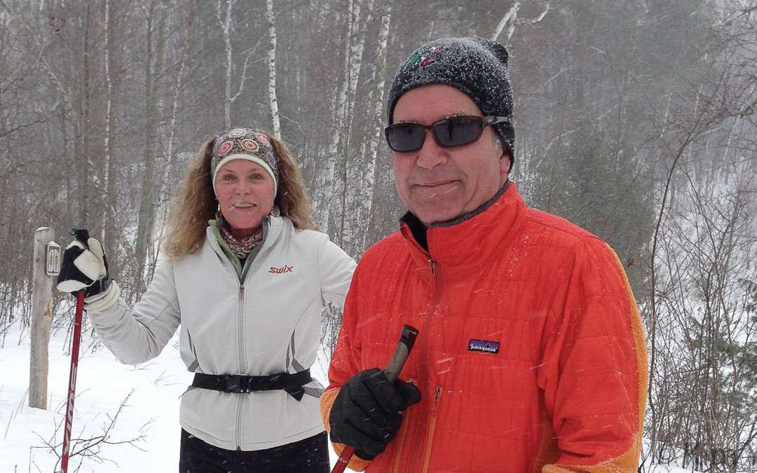 Skiing the Chippewa National Forest