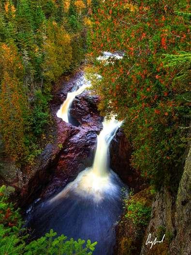 Minnesota Waterfalls-Devil's Falls