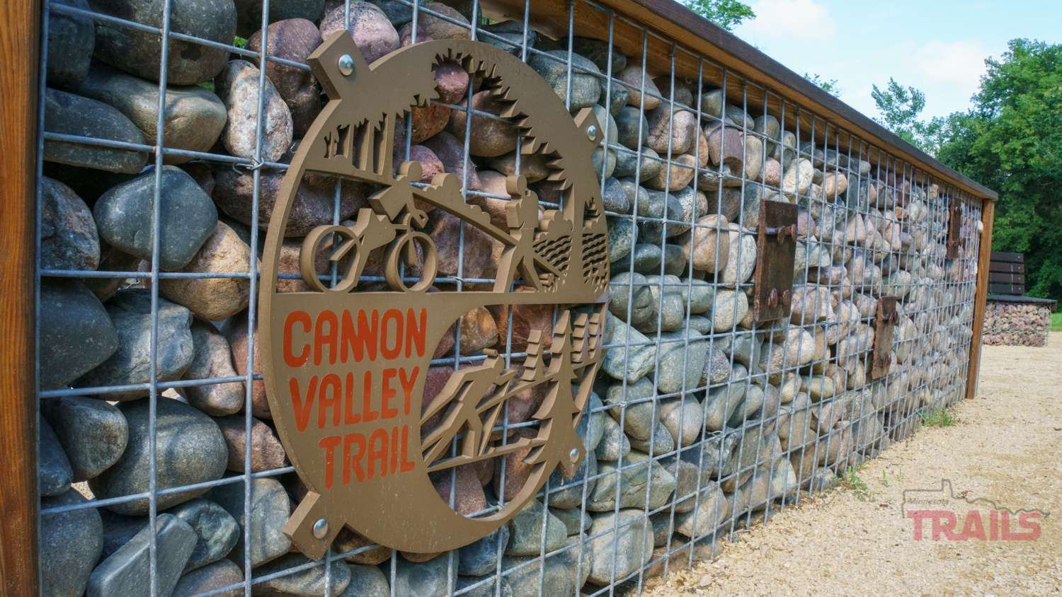 Sign of the Cannon Valley Trail