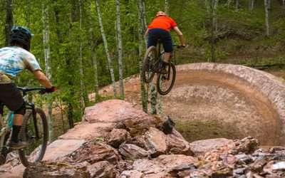 New Mountain Bike Trails at Cuyuna