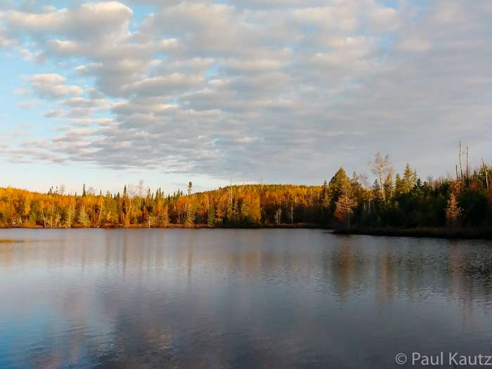 A picturesque view of Bingshick Lake on the Kekekabic Trail in northeastern Minnesota