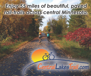A trip on the 55-mile Central Lakes Trail is the perfect fall family outing by bike or on foot